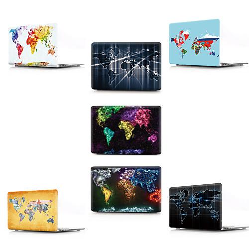 MacBook Кейс Карта / 3D в мультяшном стиле ПВХ для Новый MacBook Pro 13