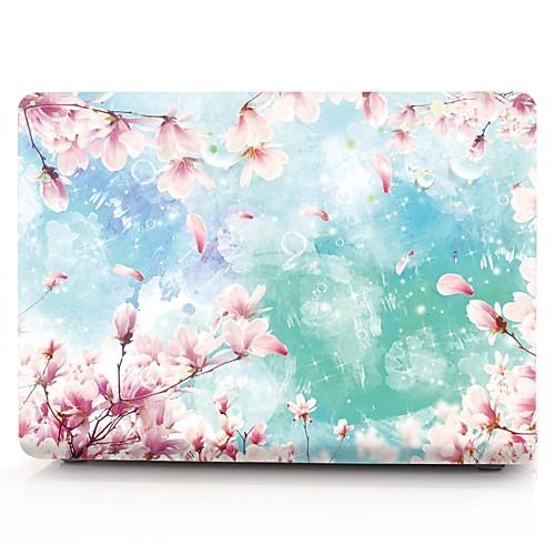MacBook Кейс Цветы пластик для Новый MacBook Pro 15 / Новый MacBook Pro 13 / MacBook Pro, 15 дюймов