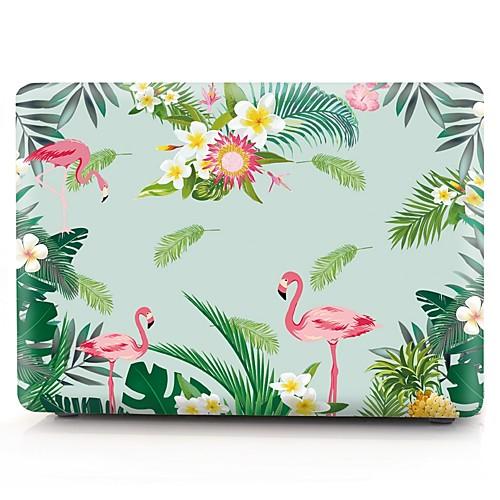 MacBook Кейс Фламинго пластик для Новый MacBook Pro 15 / Новый MacBook Pro 13 / MacBook Pro, 15 дюймов