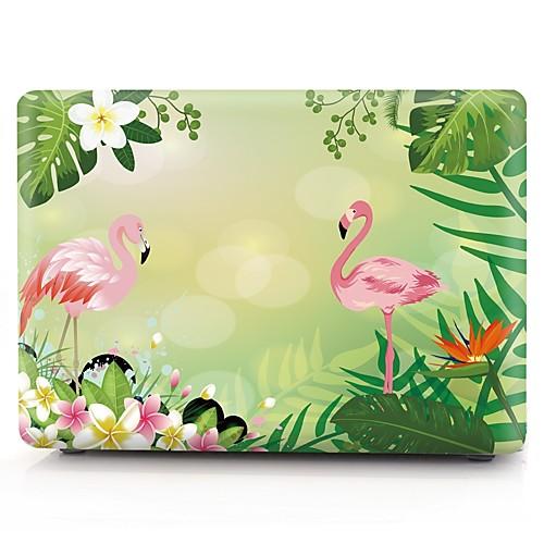 MacBook Кейс Фламинго пластик для Новый MacBook Pro 15 / Новый MacBook Pro 13 / MacBook Pro, 15 дюймов 2016 fashion 11 12 13 14 15 15 6 inch laptop sleeve bag for macbook air pro 11 13 15 retina case cover suit fabric waterproof