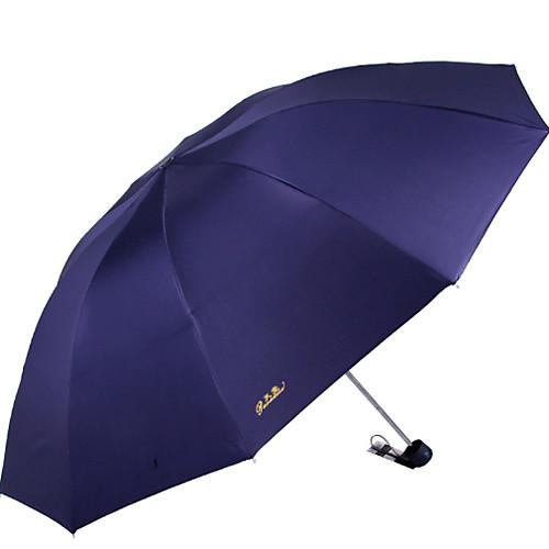 Нержавеющая сталь Все Солнечный и дождливой / Новый дизайн Складные зонты