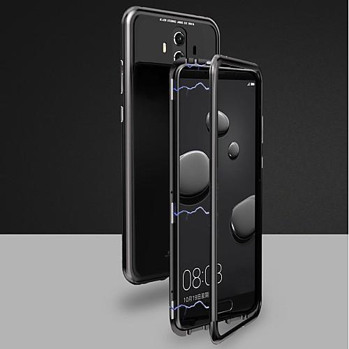 Кейс для Назначение Huawei Mate 10 pro / Mate 10 Магнитный Чехол Однотонный Твердый Закаленное стекло для Huawei Honor 10 / Mate 10 / Mate 10 pro фото