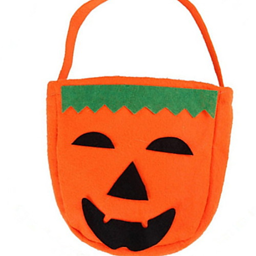 Праздничные украшения Украшения для Хэллоуина Хэллоуин Развлекательный Декоративная / Cool Оранжевый 1шт