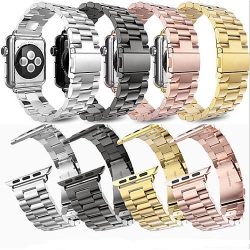 Ремешок для часов для Apple Watch Series 4/3/2/1 Apple Современная застежка Нержавеющая сталь Повязка на запястье