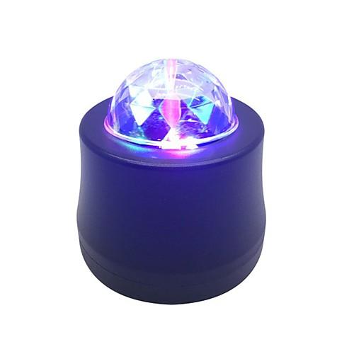 1pc led usb rgb ambient car light flash автоматическое вращение авто подсветка автомобиль окружающий свет 5v флирт романтика для праздника