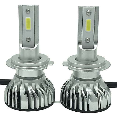 OTOLAMPARA 2pcs H7 / H3 / H1 Car Light Bulbs 45 W High Performance LED 4500 lm 2 LED Headlamp For universal Universal All years