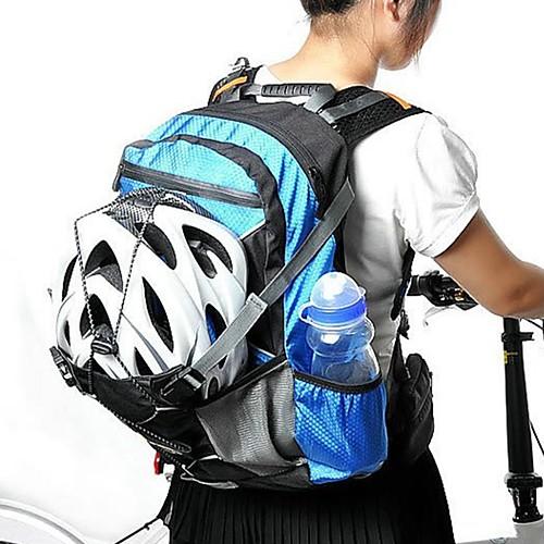 20 L Велоспорт Рюкзак Регулируется, Водонепроницаемость, Легкость Велосумка/бардачок Ткань