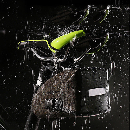 Wheel up Сумка на бока багажника велосипеда Водонепроницаемость, Компактность, Легкость Велосумка/бардачок ТПУ / Нейлон Велосумка/бардачок Велосумка Велосипедный спорт Велоспорт