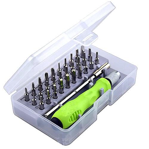 прецизионная отвертка комплект из 32 в 1 мини-магнитной отверткой комплект телефон мобильный ipad камера инструмент для обслуживания torx