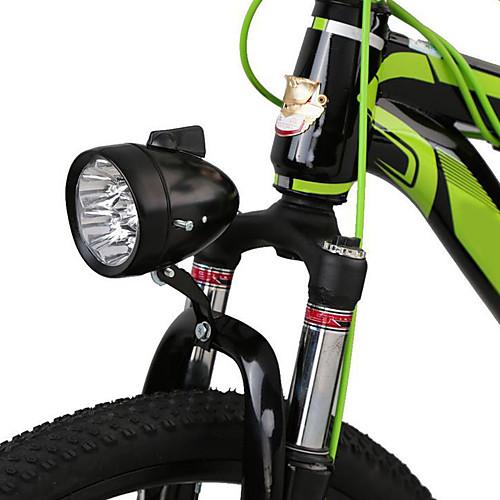Светодиодная лампа Велосипедные фары Передняя фара для велосипеда Фары для велосипеда LED Горные велосипеды Велоспорт Водонепроницаемый Портативные Быстросъемный AAA 400 lm Батарея Белый фото