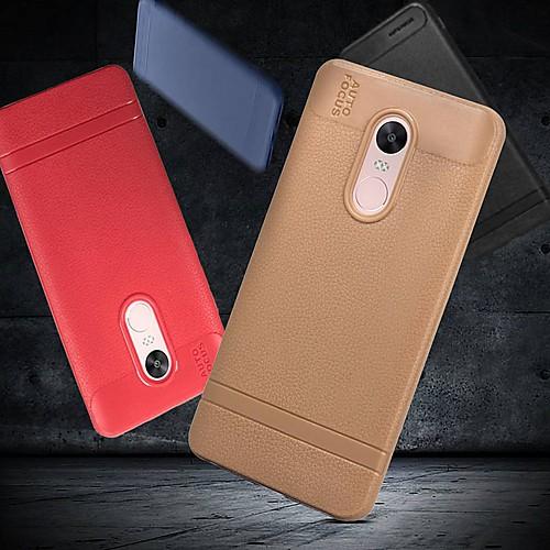 Кейс для Назначение Xiaomi Redmi Note 5 Pro / Redmi 6 Матовое Кейс на заднюю панель Однотонный Мягкий ТПУ для Redmi Note 5A / Xiaomi Redmi Note 4X / Redmi 6A фото