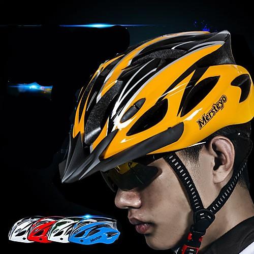 Взрослые Мотоциклетный шлем 15 Вентиляционные клапаны прибыль на акцию, ПК Виды спорта Велосипедный спорт / Велоспорт / Мотоцикл - Черный / зеленый / Буле / черный / Черный / желтый Муж. / Жен.