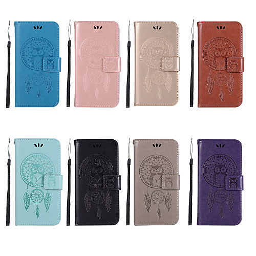 Case For Nokia Nokia 7 Plus / Nokia 5.1 Wallet / Card Holder / with Stand Full Body Cases Owl Hard PU Leather for Nokia 8 Sirocco / Nokia 7 Plus / Nokia 6 2018