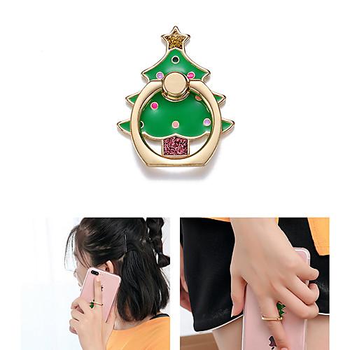 Стол Держатель подставки Christmas Santa Claus Phone Holder Регулируется / 360 ° Вращение Металл Держатель