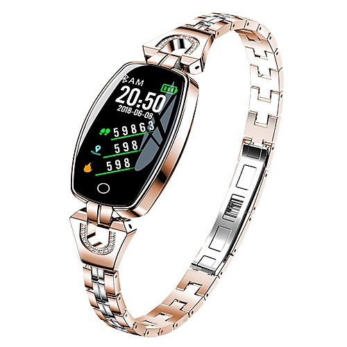 KUPENG H8 Unisex Smart Bracelet Smartwatch Android iOS Bluetooth Smart Sports Waterproof Heart Rate Monitor Blood Pressure Measurement Pedometer Call Reminder Sleep Tracker Sedentary Reminder Find My