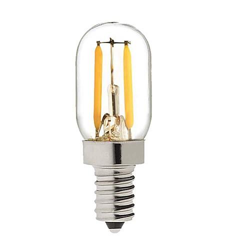 KWB 1 W LED Globe Bulbs 150-200 lm E14 S14 2 LED Beads COB Dimmable Warm White 220-240 V / 1 pc / RoHS