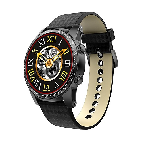 KING-WEAR® Men Smartwatch Android 3G Bluetooth APP Control Camera Pedometers Pulse Tracker Stopwatch Pedometer Activity Tracker Alarm Clock / WCDMA (850/2100MHz) / 512MB / Gravity Sensor