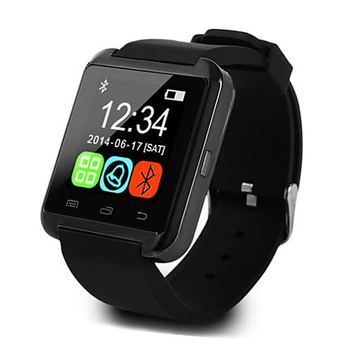 U8 Men Smartwatch Android iOS Bluetooth Sports Touch Screen Calories Burned Temperature Display Smart Case Activity Tracker Alarm Clock / Hands-Free Calls / Media Control / Message Control