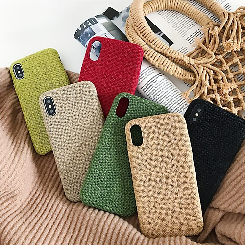 Case For Apple iPhone XS / iPhone XR / iPhone XS Max Frosted Back Cover Solid Colored Soft TPU