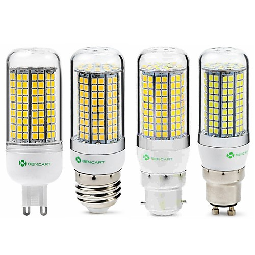 SENCART 1шт 6 W 950 lm E14 / G9 / GU10 LED лампы типа Корн T 180 Светодиодные бусины SMD 2835 Новый дизайн / Декоративная Тёплый белый / Белый 220-240 V / 110-130 V