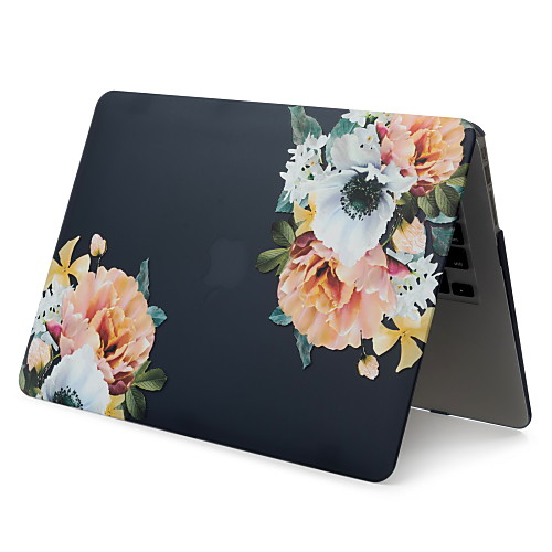MacBook Кейс Цветы ПВХ для MacBook Pro, 13 дюймов / MacBook Pro, 15 дюймов с дисплеем Retina / New MacBook Air 13