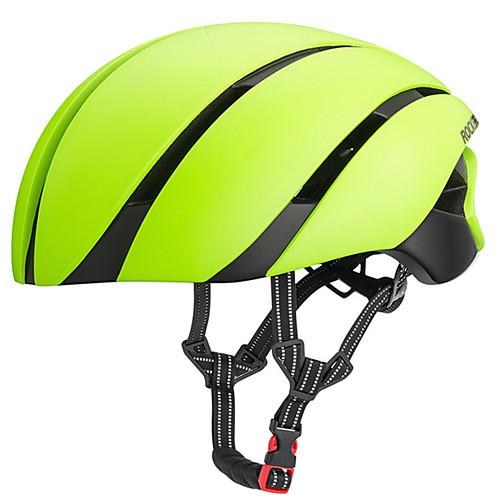ROCKBROS Взрослые Мотоциклетный шлем 8 Вентиляционные клапаны ESPPC Виды спорта Велосипедный спорт / Велоспорт - Черный / красный / Светло-коричневый / Синий и черный Муж.