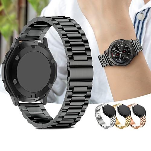 Ремешок для часов для Gear Sport Samsung Galaxy Спортивный ремешок Нержавеющая сталь Повязка на запястье фото