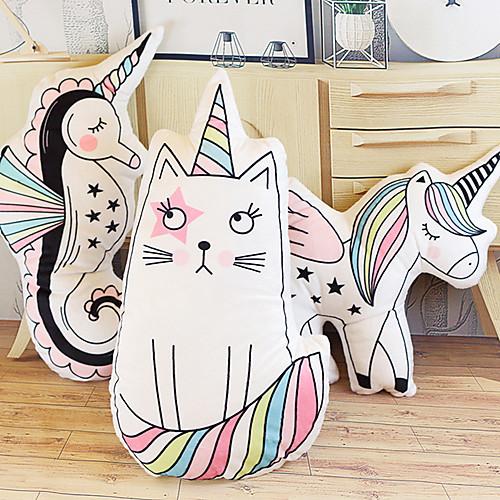 Кошка единорог Мягкие и плюшевые игрушки Милый утонченный удобный Хлопок / полиэфир Все Игрушки Подарок 3 pcs