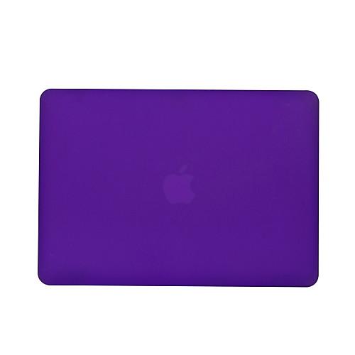 MacBook Кейс Однотонный ПВХ для MacBook Pro, 13 дюймов / MacBook Pro, 15 дюймов с дисплеем Retina / New MacBook Air 13
