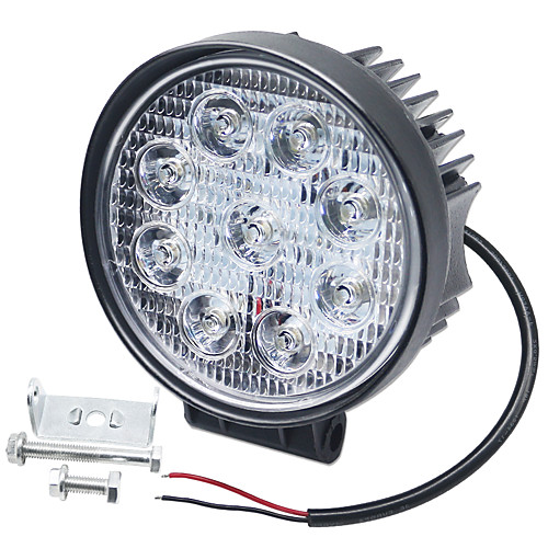 SO.K 1 Piece Car Light Bulbs 27 W Integrated LED 6000 lm 9 LED Fog Light / Daytime Running Light / Turn Signal Light For universal All years