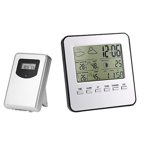 TS-A92 Wireless Indoor Outdoor Thermometer Hygrometer Digital Weather Station