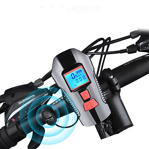 Светодиодная лампа Велосипедные фары велосипед свечения лампы Передняя фара для велосипеда Велосипедный рог Велоспорт Водонепроницаемый Быстросъемный Прочный Перезаряжаемая батарея 1000 lm фото