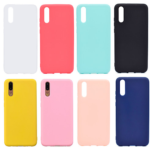 Case For Huawei P20 / P20 Pro Frosted Back Cover Solid Colored Soft TPU for Huawei Nova 3i / Huawei P20 / Huawei P20 Pro