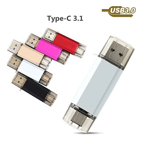 Ants 32GB usb flash drive usb disk USB 3.0 / Type-C Metal Shell irregular Covers