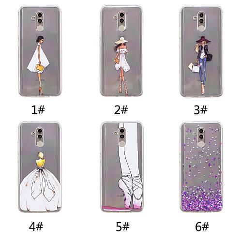 Case For Huawei P20 / P20 Pro Pattern Back Cover Heart / Sexy Lady Soft TPU for Huawei Nova 3i / Huawei P20 / Huawei P20 Pro