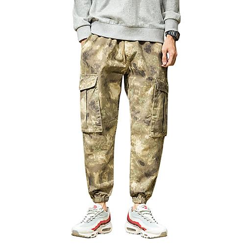 узкие спортивные штаны азиатского размера - цвет хаки