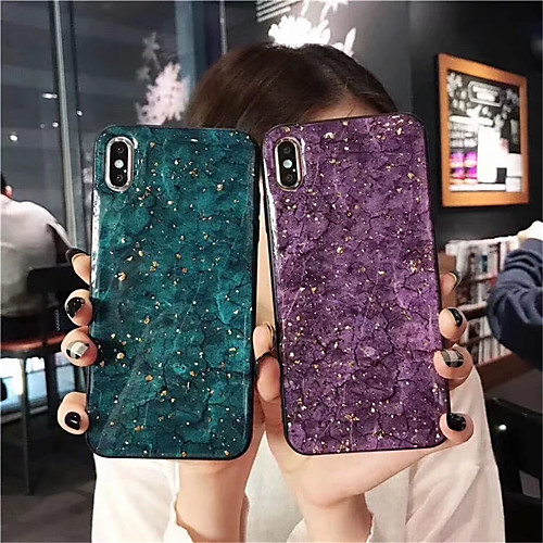 Case For Apple iPhone XS / iPhone XR / iPhone XS Max IMD Back Cover Marble Soft TPU