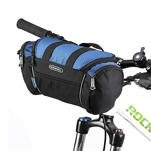ROSWHEEL Бардачок на руль / Сумка Влагонепроницаемый, Пригодно для носки, Ударопрочность Велосумка/бардачок ПВХ / 600D полиэстер Велосумка/бардачок Велосумка Samsung Galaxy S6