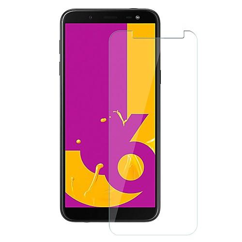 Защитная плёнка для экрана для Samsung Galaxy J6 Закаленное стекло 1 ед. Защитная пленка для экрана Уровень защиты 9H / Защита от царапин фото