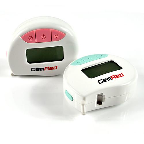 Измерительная лента Gemred Custom Logo автоматическая гибкая талия на заказ окружность тела цифровой резиновая рулетка