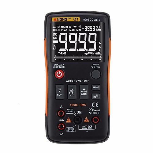 ANENG Q1 Цифровой мультиметр 9999 Удобный / Измерительный прибор / Обнаружение потенциала тока и напряжения