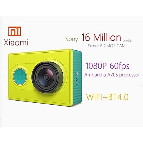 Xiaomi Yi YDXJ01XY 16 mp 1920 x 1080 пиксель На пульте управления / Легко для того чтобы снести / Маленький размер 60 кадров в секунду Нет Нет экрана (выход на APP) 16.0 Мп КМОП 128 GB H.264 / MPEG-4