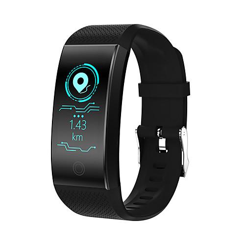 QW18 Мужчины Умный браслет Android iOS Bluetooth Smart Спорт Водонепроницаемый Пульсомер Сенсорный экран / Секундомер / Датчик для отслеживания активности / Датчик для отслеживания сна