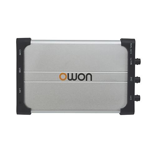 OWON OWON VDS Series PC Oscilloscope 60MHz dual channels with LAN VDS2062L инструмент / Тестер USB / Осциллограф 60MHz Легкий вес / Удобный / Измерительный прибор
