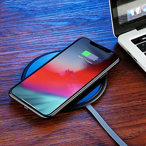 Joyroom Беспроводное зарядное устройство Зарядное устройство USB USB Беспроводное зарядное устройство / Qi 1 USB порт 1 A / 2 A DC 9V / DC 5V для iPhone X / iPhone 8 Pluss / iPhone 8
