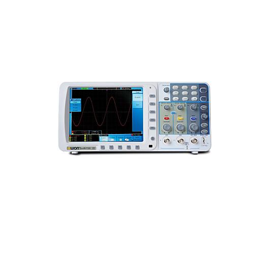 OWON OWON 10M Deep record length 200MHz dual channels Digital Storage Oscilloscope SDS8202 инструмент / Осциллограф 200MHz Легкий вес / Удобный / Измерительный прибор