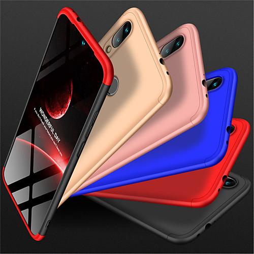 Кейс для Назначение Xiaomi Xiaomi Redmi Note 6 / Xiaomi Redmi Note 7 Матовое Чехол Однотонный Твердый ПК для Xiaomi Redmi Note 5 Pro / Xiaomi Pocophone F1 / Xiaomi Redmi 6 Pro фото