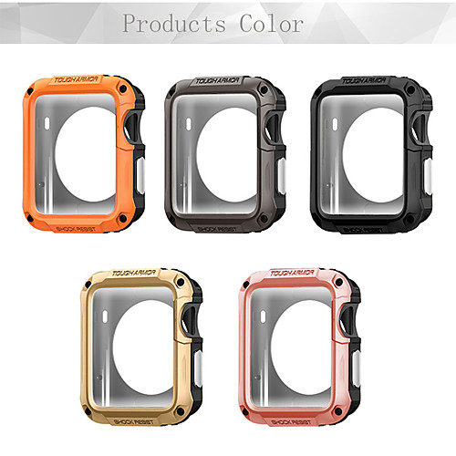 Case For Apple Apple Watch Series 4/3/2/1 Plastic Apple