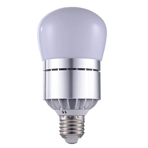 1шт 12 W 1200 lm E26 / E27 Круглые LED лампы 30 Светодиодные бусины SMD 2835 Управление освещением Тёплый белый / Холодный белый 220-240 V / 110-130 V
