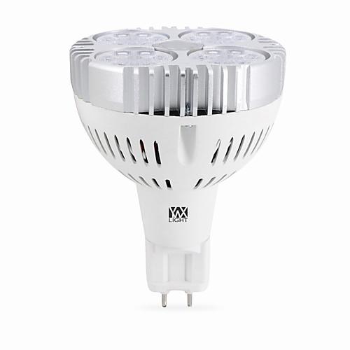 YWXLIGHT 1шт 24 W 2400 lm G12 Точечное LED освещение 24 Светодиодные бусины SMD 3030 Тёплый белый / Холодный белый 90-260 V